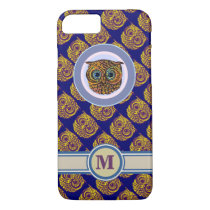 lovely owl personalized iPhone 8/7 case