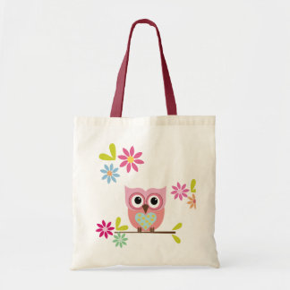 Lovely Owl - Tote Budget Tote Bag