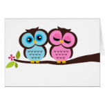 Lovely Owls Cards