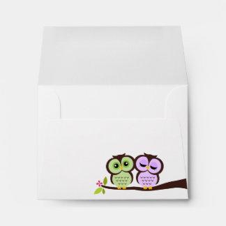 Lovely Owls Envelopes