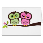 Lovely Owls Greeting Cards