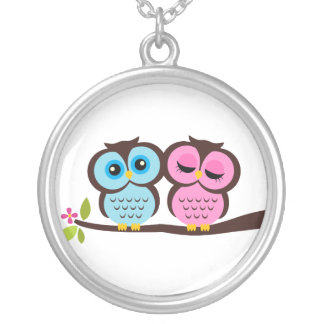 Lovely Owls Necklace
