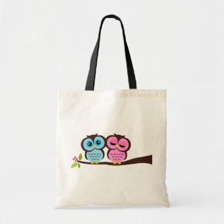 Lovely Owls Tote Bag