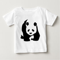 Lovely Panda Baby T-Shirt