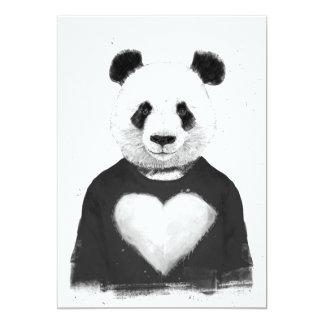 Lovely panda card