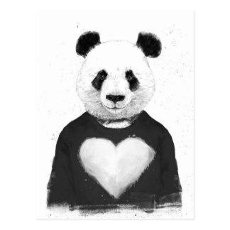 Lovely panda postcard