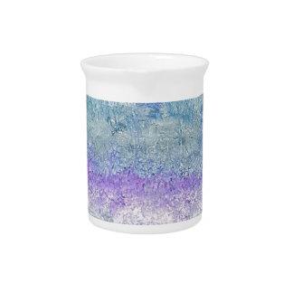 Lovely Pastel Invert Customizable Chic Design Beverage Pitcher