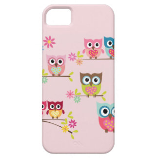 Lovely Pastel Owls - iPhone 5 5S Case