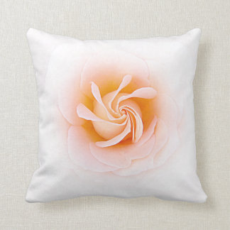 Lovely Peach Colored Rose Pillows