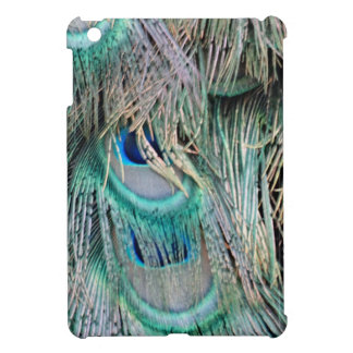 Lovely Peacock Feathers Big Blue Eyes iPad Mini Covers
