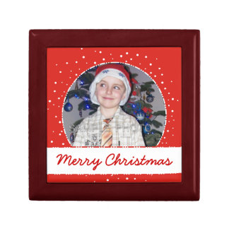Lovely Personalized Christmas Photo Frame Gift Box