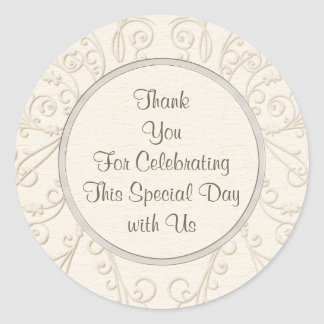 Lovely PERSONALIZED Wedding, Anniversary Stickers