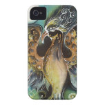 lovely phoenix bird iPhone 4 Case-Mate case
