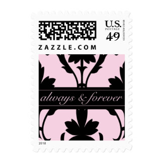 Lovely Pink-Always & Forever Small Postage