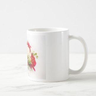 Lovely pink bouquet coffee mug