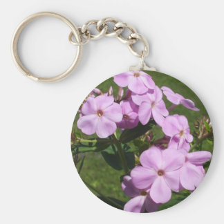 Lovely Pink Flowers Keychain