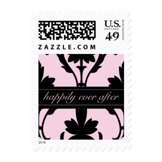 Lovely Pink Happily Ever After Small Postage