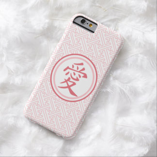 Lovely Pink Kanji Barely There iPhone 6 Case