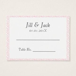 Lovely Pink Kanji Business Card