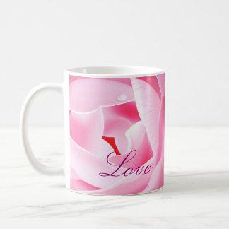Lovely Pink Rose Coffee Mug