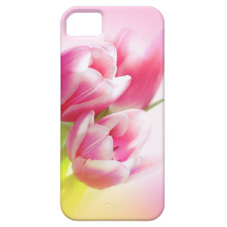 Lovely pink tulips iPhone 5 cases