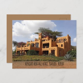 Lovely postcard of the African Heritage House