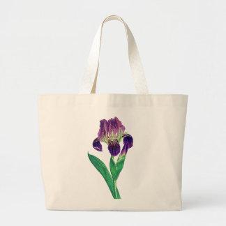 Lovely Purple Dutch Iris Canvas Bag