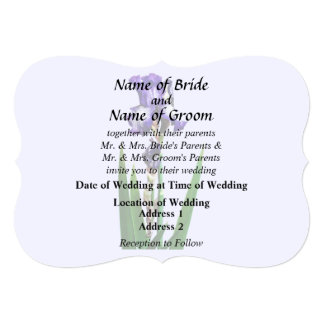 Lovely Purple Iris Card