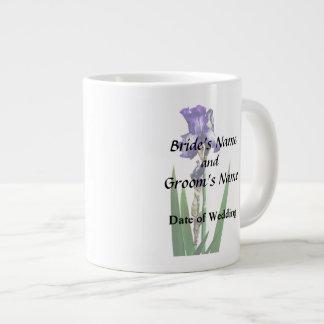 Lovely Purple Iris Large Coffee Mug