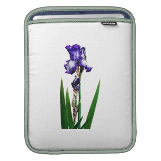 Lovely Purple Iris Sleeve For iPads