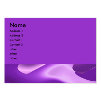lovely purple large business cards (Pack of 100)