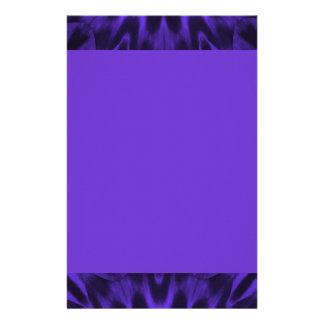 Lovely Purple Spotted Leopard Stationery