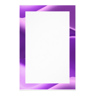 lovely purple stationery