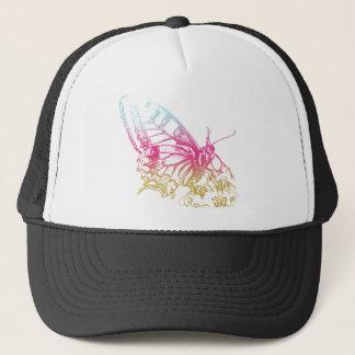 Lovely Rainbow Butterfly Print Trucker Hat