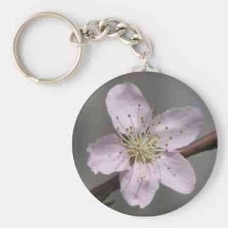 Lovely Raspberry Bloom Keychain