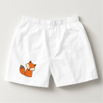 Lovely red fox boxers