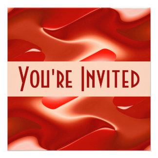 lovely red invites