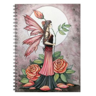 Lovely Rose Fairy Notebook