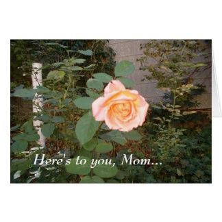 Lovely Rose Greeting Card
