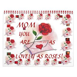 LOVELY ROSES! Calendar