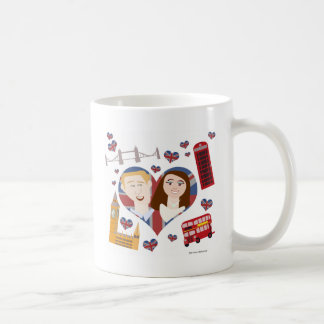 Lovely Royal Wedding Couple Coffee Mug