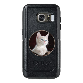 Lovely Samsung Galaxy S7 Case In Kitty Design