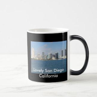 Lovely San Diego California morphing mug. Magic Mug