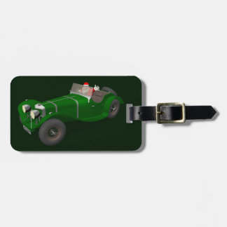 Lovely Santa Claus Jaguar SS 90 Driver Tag For Bags