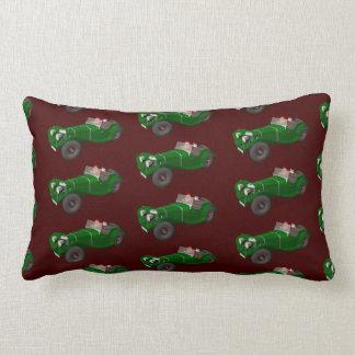 Lovely Santa Claus Jaguar SS 90 Driver Lumbar Pillow