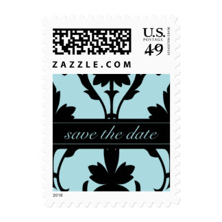 Lovely Save The Date Small Postage