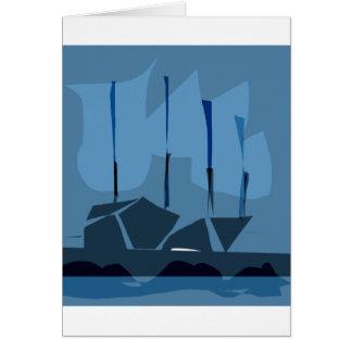 *LOVELY SHIPS BY ALBRUNO* CARD