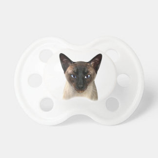 Lovely Siamese Cat Pacifier