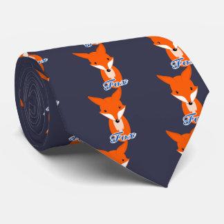 lovely simple retro fox neck tie