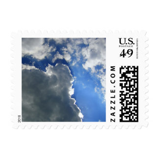 Lovely Sky Postage Stamps